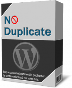 plugin no duplicate